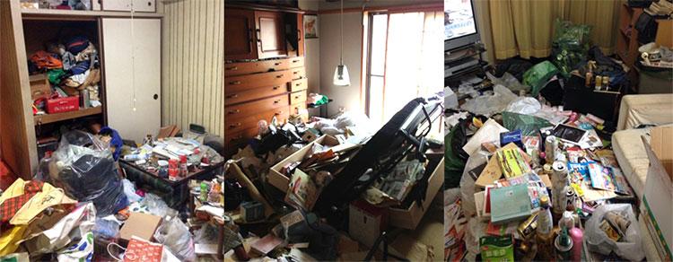 大阪のゴミ屋敷